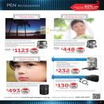 Digital Camera Pen Accessories M.Zuiko Digital ED, Flash FL-300R, Microphone Set SEMA-1