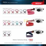 Digital Camera Pen Accessories Neck Camera Strap, Patterns, Heart, Star 5mm, 3.5mm