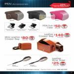 Digital Camera Pen Accessories Pen Suit Case, Leather Cooper Bag, Leather Wrtist Strap