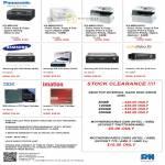 Panasonic Printers KX-MB1500, KX-MB2025CX, KX-MB3010CX, KX-MB3020CX, Samsung Optical Drive, ActiData SAS, Hard Disk HDD, Imation LT04, IBM Ultrium LTO-3