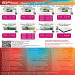 Silicon Power Memory RAM SO-DIMM DDR3, DDR2, DIMM, USB Card Reader