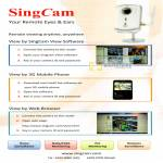 SingCam IPCam Features, 3G, Web Browser