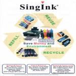 Singink Refill Print Cartridges Ink