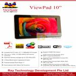 Viewsonic ViewPad 10 Tablet Android