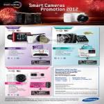 Digital Cameras WB150F, NX1000, EX2F