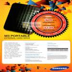 Samsung External Storage M3 Portable