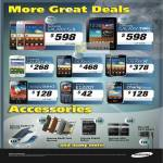 Mobile Phones Galaxy S II, Tab 7.7, Ace, S Advance, W, Star 3, E1220T, Champ Deluxe, Accessories