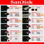 Flash Memory Cards Extreme SSD, Vault, Extreme Pro CompactFlash, SDHC, Ultra, Mobile, Stick Pro Duo