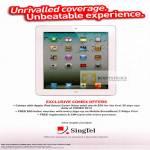 Apple IPad Tablet, Smart Covers, Free Hello Voucher, Registration, SIM Card