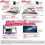 Broadband ADSL 15Mbps Free Acer Aspire V5, Samsung Notebook Series 9, Samsung 32 Smart LED TV, Apple MacBook Pro, Mio TV
