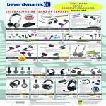 Beyer Dynamic Headphones T50p, MMX 41, 101iE, DTX 41, 101 IE, 71 IE, DTX 235, 710, 910, DT660, DT860, DT880, DT990, T 5p, T70, T70p, MMX 2, 300