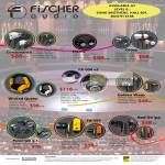 Earphones Fischer Audio Consonance, Eterna, Gloss, Golden Wasp, FA-004 V2, Wicked Queen, Paradigm V.3, FA-555, Red Stripe