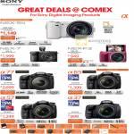 Digital Cameras Nex-5ND, Nex-7K, A77, SLT-A77VQ, A57K, A65VK, A37K, Nex-F3D