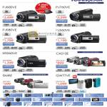 Handycam Video Camcorders HDR PJ600VE, PJ760VE, PJ580VE, PJ260VE, XR260VE, CX210E, GW77VE, DCR SX45E