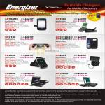 Energizer Battery Chargers AP750MC, XP1000, GP2100, AP1515GS2, AP1528GS3, XP2000, XP4003, XP8000, XP18000