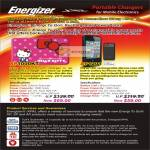 Energizer Battery Chargers XP1000KT Hello Kitty, AP1201 Case