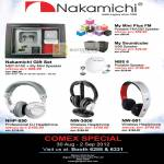 Nakamichi NEP-S100 Speaker, My Mini Plus FM, Soundcube, NBS 6, Headphones NHP-850, NW-3000, NW-501