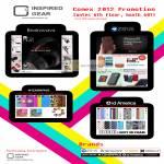 Inspired Gear Branwavz Earphones, Zenus IPhone 4S Samsung Case, Coverface, Id America Cushi