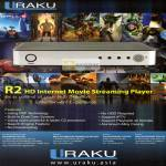 UKC Electronics Uraku R2 Internet Movie Streaming Player