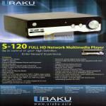 UKC Electronics Uraku S-120 Full HD Network Multimedia Player