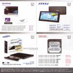 Various Apotop Router, RAM Memory SODIMM, MSI Tablets 7 Plus 10, Samsung External Optical Drive, Toshiba Internal Hard Disk HDD