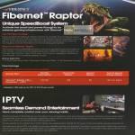 Fibernet Raptor Fibre Broadband Plan, IPTV