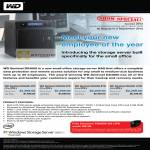 WD Sentinel DX4000 Server NAS External Storage