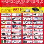 Worldwide Computer Accessories USB Cable, Earphone, VGA Cable, Cooling Pad, HDMI, Screen Protector, Card Reader, Mouse, LAN, Case