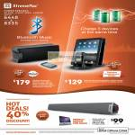 Soma Bluetooth BT, Incharge X3 Charger, Tango Bar