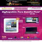 MyRepublic 100Mbps Fibre Broadband, Free Samsung Galaxy Tab 2 7.0, 10.1, Samsung NP400B2B Notebook