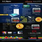 Tablets Tab 7.9 ACR-VT97900, Tab 7.2 ACR-VT97210, Veolo2 Smart Android Hub ACR-VE91400