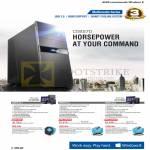 Desktop PCs CG8270 CG8270-Ivy I7, CP6230-Ivy I7, CP6230-Ivy I5