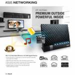 Networking RT-AC56U Router Features, 802.11ac Dual Band Wireless-AC1200 Gigabit