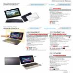 Notebooks Transformer Pad TF300TL, VivoTab RT TF600TG, VIVOTAB SMART ME400C, ME400CL, TF810C