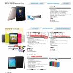 Tablets Fonepad ME371, Memo Pad ME173X, ME172V, NEXUS 7, Accessories
