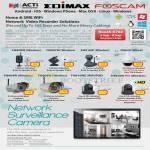 ACTi Edimax Foscam IPCam FI8909W FI8907W FI8916W FI8620 FI8904W FI8905W FI8910W FI8910E FI9820W FI9821W