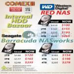 Internal Hard Disk Western Digital WD Red, Barracuda NASworks 1TB 2TB 3TB 4TB