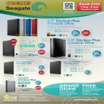 Seagate External Storage Backup Plus, Slim, Expansion, Wireless Plus