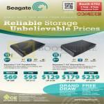 Seagate External Storage Expansion Portable Drive 500GB 1TB 2TB 3TB 4TB