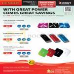 ISmart External Charger, Cube, Flare, Vogue, Power Bank