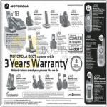 Motorola Dect Phones SC200, C601, S1201, D501, Q101, D1001, T6, T8, T80 Extreme C1002D, C602, D1002