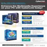 Cyberlink Asia Radio PowerDirector 11, Media Suite 9 Ultra, Media Suite 9 Centra