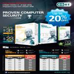 ESET Asia Radio Smart Security 6, NOD32 Antivirus 6, Mobile Security