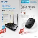 TP-Link Networking AC1750 802.11ac Wireless Router, Pocket Hotspot M5350 3G Mobile Wifi Sharing