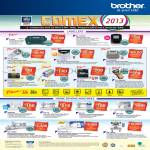 Brother Labellers P-Touch QL-700VP PT-80 H105VP 1290VP D200VP 2030 2430PC 2730 7600VP, Sewing Machines GS2700 NV-10 NV-50 NV-950 NV-1250D INNOVIS V7 PR-1000E