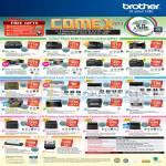 Brother Printers Inkjet MFC J220 J430 J625DW J6510DW, Laser DCP 7060D HL 2240D 2270DW, LED HL 3150CDN 3170CDW, Scanners DS-700D ADS-2100