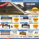 Casio Musical Instruments CTK-2200, WK-220, PX-330, PX-780, PX-A100RD BE, PX-A800BN