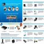 Cards Charge N Redeem, Exclusive Deals Offers AC Ryan, Acer, ASUS, Lenovo, Samsung