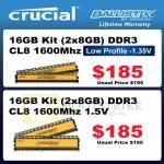 Crucial Memory RAM DDR3