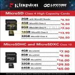 Flash Memory MicroSD, MicroSDHC